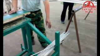 aluminum rod straightening machine