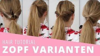 Meine lieblings Zopf Varianten   Hair Tutorial