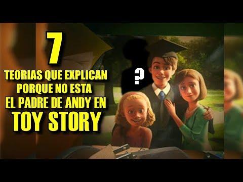 7 TEORÍAS que EXPLICAN porque no SALE el PADRE de ANDY enTOY STORY