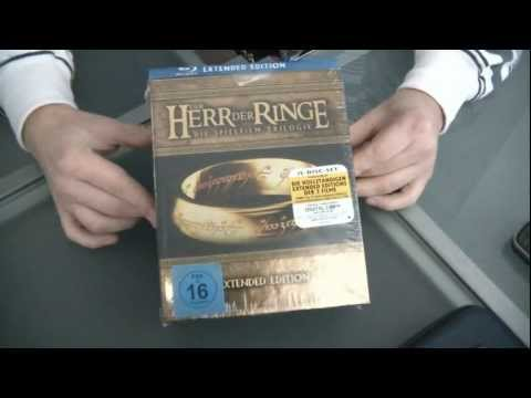 Herr der Ringe - Extended Version Blu ray unboxing