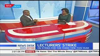 NewsDesk: Lecturer's strike