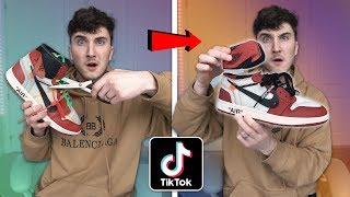 Testing Viral Sneakerhead Tik Tok Life Hacks! (oops)