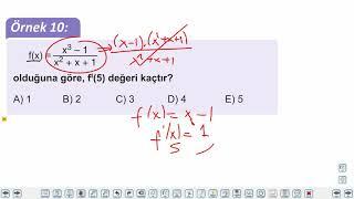 Eğitim Vadisi AYT Matematik 16.Föy Türev 2 Konu Anlatım Videoları