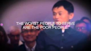 Jack Ma on Business - Poor People Attitude