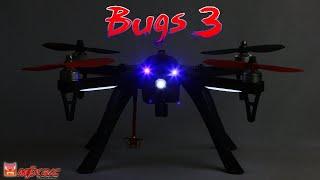 Дешёвый Квадрокоптер. FPV полет возле жилых домов на MJX Bugs 3. 4K
