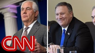 Trump may replace Rex Tillerson with CIA Chief Mike Pompeo