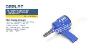 Air Hydraulic Riveter - 3/32