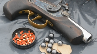 The Gun That Shot Lincoln -  Ardesa Philadelphia Derringer cal 45