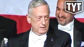 Mattis Mad-Dogs Trump During Speech