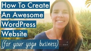 Sydney: How To Create A WordPress Website 2016
