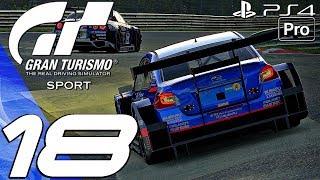 Gran Turismo Sport - Gameplay Walkthrough Part 18 - Mission Stage 8 6 & Tokyo Expressway (PS4 PRO)
