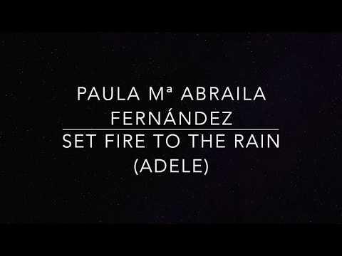 Set Fire To The Rain Adele