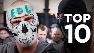 Top 10 Most Dangerous Football Fans!