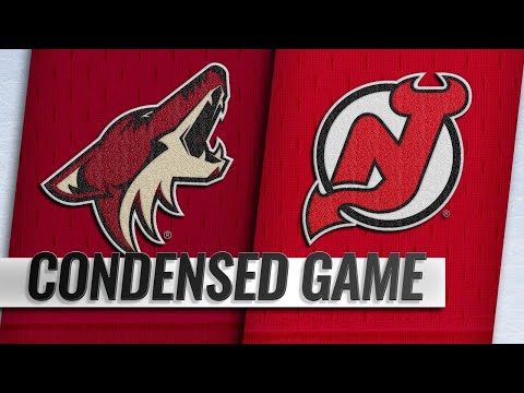 03/23/19 Condensed Game: Coyotes @ Devils
