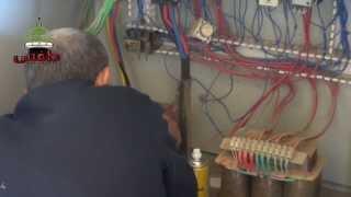 preview picture of video 'طفس :: إصلاح اللوحة الكهربائية لأحد آبار مياه الشرب في المدينة'