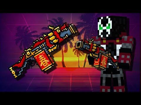Pixel GuN 3D - Temple Guardian Gameplay