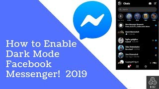 how to enable dark mode on messenger - Kênh video giải trí