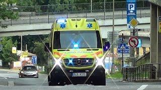 Liberec ZZS Libereckého kraje RZP 112 | Liberec EMS ambulance 112 responding [CZ | 9.8.2016]