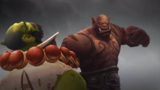 Thrall vs. Garrosh - Epic Cinematic (WoD Spoilers)