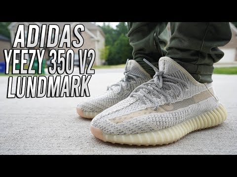ADIDAS YEEZY 350 v2 LUNDMARK REVIEW AND ON FOOT !!!
