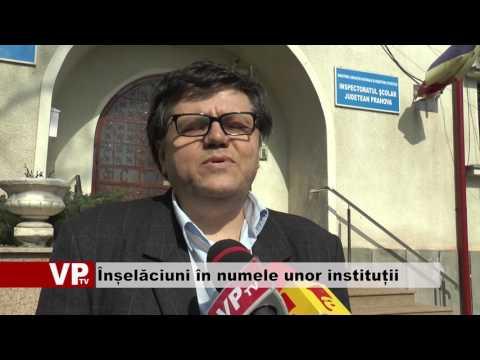 Înșelăciuni în numele unor instituții publice