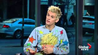 Aaron Carter on the darker side of childhood stardom