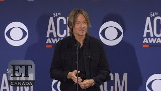 Keith Urban On Winning Entertainer Of The Year