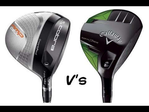Callaway Golf RAZR Fit Xtreme Vs Cobra AMP Cell 3 Woods