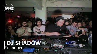 DJ Shadow - Live @ Boiler Room 2012