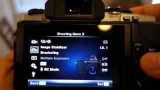 Focus Peaking on Olympus OM-D E-M5