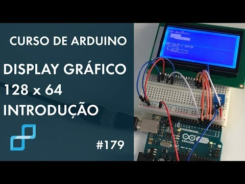 128x64 LCD dot matrix graphic display with Arduino