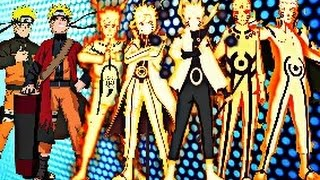 Naruto Uzumaki - All Evolutions (OLD)