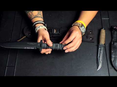TOPS USMC Combat Knife: Tabletop Overview