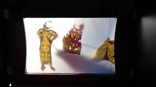 """Karagöz-Schattentheater-Kunst: """"Musa und der brennende Dornbusch"""""""