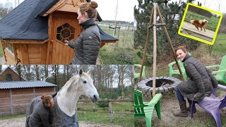 I LIVE IN A PARADISE; (HORSE) YARD TOUR!