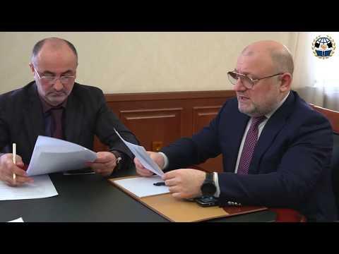 Джамбулат Умаров провел рабочее совещание с сотрудниками ведомства