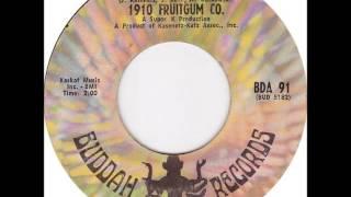 1910 Fruitgum Company - Pow Wow on Mono 1969 Buddah 45 rpm record.