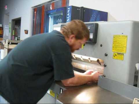 Challenge Champion 305 Automatic Paper Cutting Machine