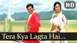 Tera Kya Lagta Hai HD   Aag 1994  Govinda  Shilpa Shetty  Suhas Joshi