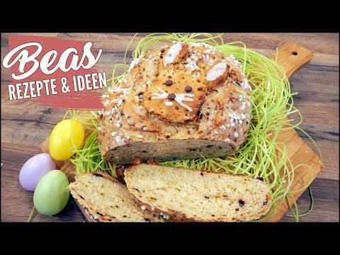 Osterbrot Rezept | Brot backen mit Pistazien - Mandeln und Schokodrops