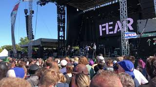 FEAR - Getting the brush - Riot fest 2018