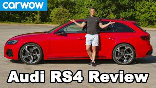 New Audi RS4 2020 in-depth review - see how quick it really is!