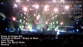 DMB - Sleep To Dream Her, Grace is Gone, Jimi Thing, When The World Ends, Granny - LT31