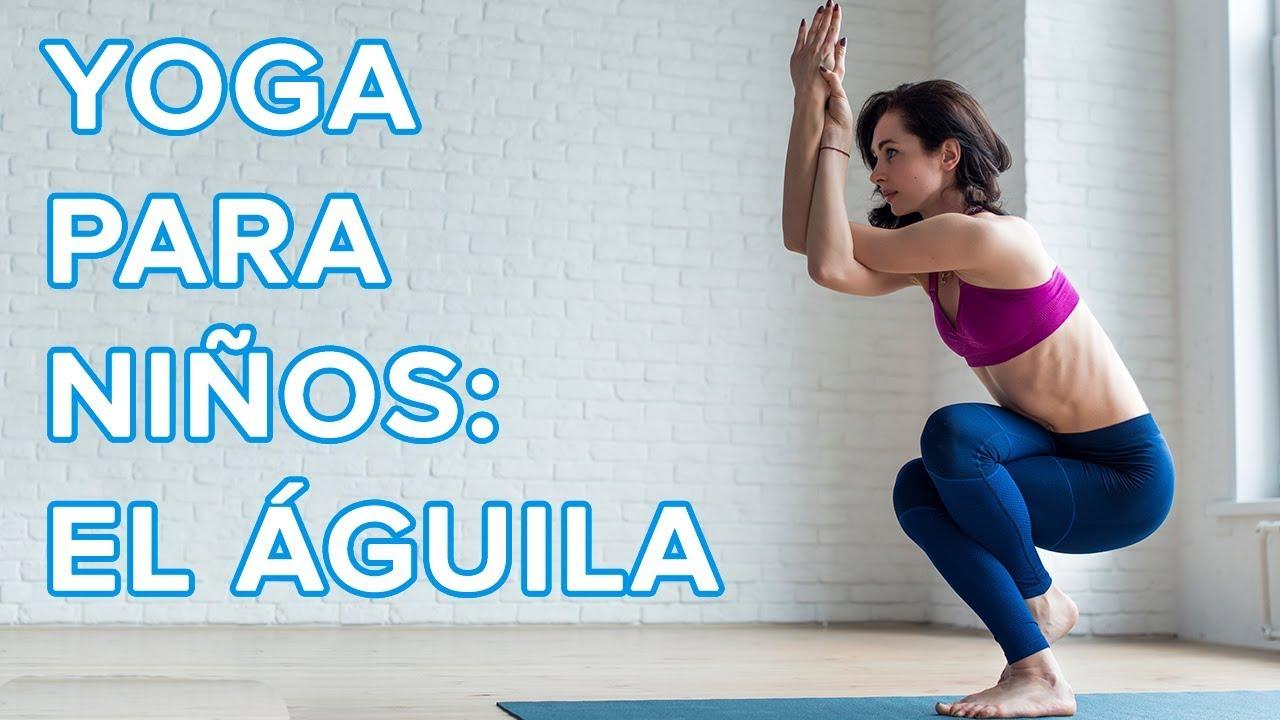 Yoga para niños | La postura del águila o Garudasana ????