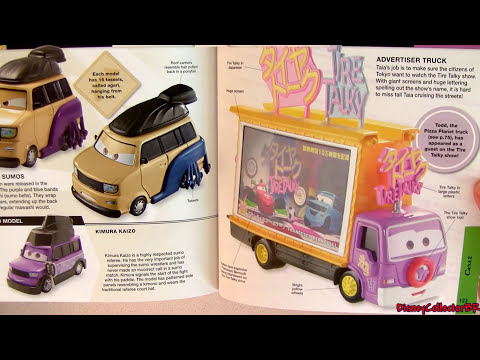 Disney DK Cars 2 Character Encyclopedia Hudson Hornet Piston Cup Mcqueen Diecast Pixar Exclusive