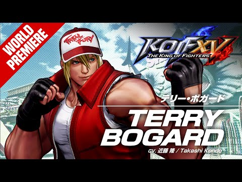 Terry Bogard rejoint la Team Fury de The King of Fighters XV