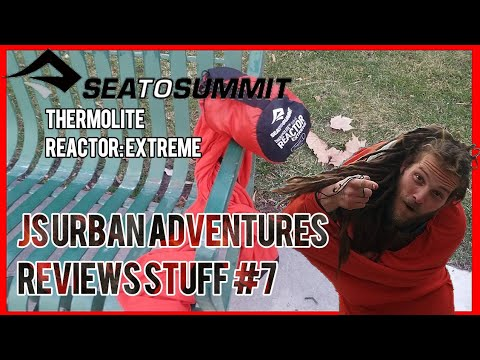 SEA TO SUMMIT REACTOR EXTREME THERMOLITE SLEEPING BAG LINER REVIEW