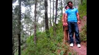 preview picture of video 'Qaiser and Dossal Exploring Jungle at Naqra Abbotabad'