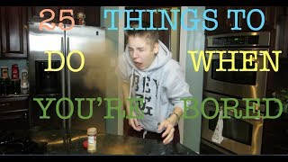 Matthew Espinosa - 25 THINGS TO DO WHEN YOURE BORED