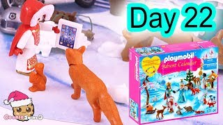 Playmobil Holiday Christmas Advent Calendar Day 22 Cookie Swirl C Toy Surprise Video